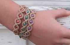 Crochet Friendship Bracelet | Craftsy