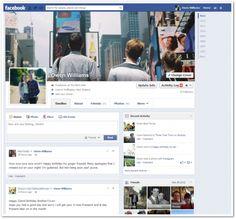 Facebook เริ่มปรับโฉมหน้า Profile แบบ Timeline ใหม่ แสดงเพียงคอลัมน์เดียว !!