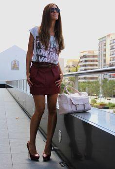 Sfera  Skirts, Alcott  T Shirts and Naf Naf  Bags