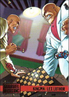 Fleer DC vs. Marvel Trading Cards [1995]