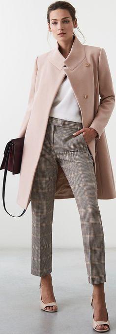 New Womens Fashion Classy Chic Work Attire Ideas Work Fashion, Trendy Fashion, Winter Fashion, Womens Fashion, Fashion Trends, Classy Fashion, Office Fashion, Cheap Fashion, Fashion Fashion