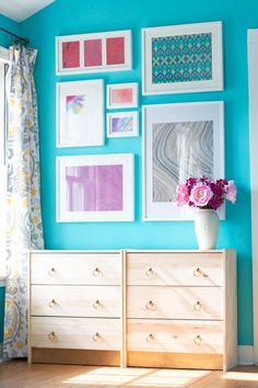 Frames for baby room ( Luci's drawings) The Ultimate IKEA Shopping List: 9 Cheap, Chic Classics | Apartment Therapy