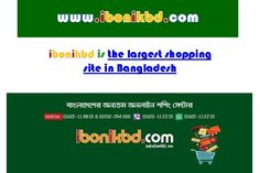 iBonik is the largest shopping site in Bangladesh