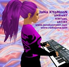 JaN PuLSFoRD plays the music of JaNa KYoMooN in virtual spaces and beyond