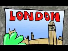 FREE CHILDREN'S BOOK!!! - Tristan the Travel Bug Visits London - YouTube