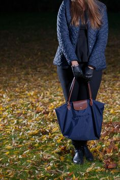 Visit my blog for more details! #jacket #hat #Longchamp #fall #autumn #VILA #HM #gloves #streetstyle #style #emmyslife