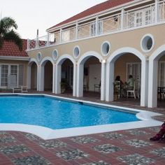 Private Pool at Vista House Bed and Breakfast in #Jamaica