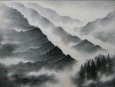 水墨画の魅力を再発見|白と黒の世界アート作品集