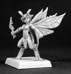 Reaper Miniatures Fairy #14469 Elves Unpainted RPG D&D Mini Figure