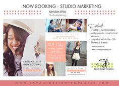 senior photography marketing templates   ... Template - Senior ...