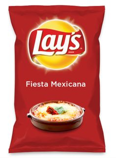 Wouldn't Fiesta Mexicana be yummy as a chip? Lay's Do Us A Flavor is back, and the search is on for the yummiest chip idea. Create one using your favorite flavors from around the country and you could win $1 million! https://www.dousaflavor.com See Rules.