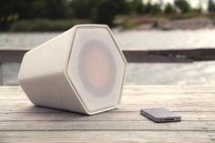 unmonday 4.3L ceramic airplay speaker system