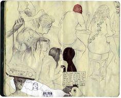 Vincent Hui, sketchbook