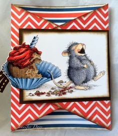 #cre8time for CAKE!! House-Mouse Designs by Just4FunCrafts