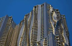 Frank Gehry, New York Apartments. Tallest residential tower in the western hemisphere.