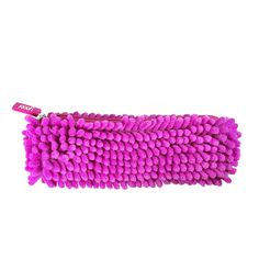 When was the last time you hugged a pencil case? This zippered pencil case is awesomely soft, and full of friendly fuzzy dreadlocks.