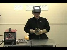 Cutting, Filing, Grinding and Fitting Metal for Welding - YouTube