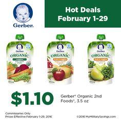 Gerber Organic Baby Food | Our Military Life Blog