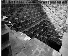 Chand Baori Stepwell  Abhaneri, India (800 AD)  photo by Ben Lepley, Tectonicus