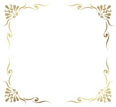 Transparent Decorative Frame Border PNG Picture