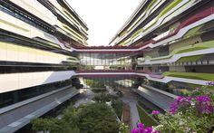 Design Hub - блог о дизайне интерьера и архитектуре: Новый кампус университета в Сингапуре