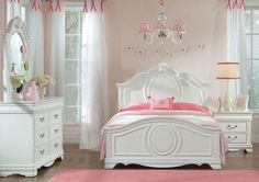 Every Little Girl Dreams Of Being A Princess. Girls Bedroom SetsGirl ...