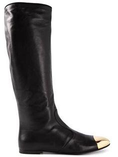 GIUSEPPE ZANOTTI DESIGN toe cap riding boots - Farfetch