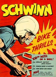 Schwinn Bicycles vintage ad