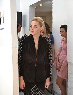 Backstage, mannequin   www.mode-estah.fr