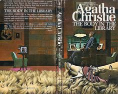 Body in The Library, The (Pocket 77444) AUTHOR: Agatha Christie ARTIST: Tom Adams by Hang Fire Books, via Flickr