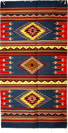 Carpet Runners With Rubber Backing Southwestern Quilts, Southwestern Decorating, Native American Rugs, Native American Indians, Ethnic Patterns, Weaving Patterns, Diy Carpet, Modern Carpet, Mexican Rug
