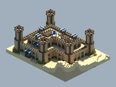 Some ideas for buildings in a desert - OGthellama Reddit