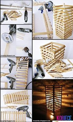 45 Easy and Creative DIY Popsicle Stick Crafts Ideas. Easy-and-Creative-DIY-Popsicle-Stick-Crafts-Ideas. Can you stop your inner child from hopping out? Then satisfy your hunger for craft with these Easy and Creative DIY Popsicle Stick Crafts Ideas. Diy Para A Casa, Diy Casa, Diy Home Crafts, Wood Crafts, Wood Sticks Crafts, Creative Crafts, Creative Ideas, Resin Crafts, Yarn Crafts