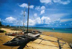 Torres Strait, Australia. Fishing canoe. #Aboriginal #Indigenous #Islander #TorresStrait #Culture #Australia #Queensland #Traditional #Canoe #Fishing