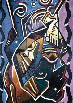 Francis Picabia, Bal Nègre, 1947