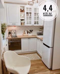 Kitchen Sets, Ikea Kitchen, Home Decor Kitchen, Kitchen Small, Country Kitchen, Kitchen Design Open, Interior Design Kitchen, Interior Modern, Home Interior