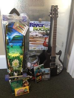 River Rocks Festival is going to have sweet silent auction items on Saturday!! There will be a guitar, a skateboard, a river movie collection, books signed by the authors, paddling trips from local outfitters, a ginkgo tree and much more!!! Super pumped!!