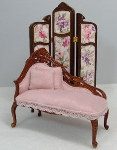 Dollhouse Miniature Chaise Lounge | Flickr - Photo Sharing!
