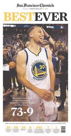Golden State Warriors 73 Regular Season Wins