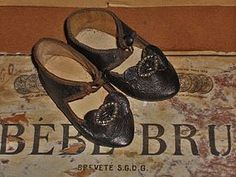 Rare Authentic Luxury French Bru Shoes from ~ WHEN DREAMS COME TRUE ~ found @Doll Shops United http://www.dollshopsunited.com/stores/whendreamscometrue/items/1297670/Rare-Authentic-Luxury-French-Bru-Shoes #dollshopsunited