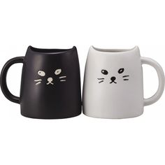 【楽天市場】黒ねこと白ねこの ペアマグ 2個セット【結婚お祝い プレゼント ペアカップ マグカップ ネコ 猫 ネコグッズ プレゼント お返し 誕生日 ごあいさつ】:KYOWA(共和)Gift&Shopping