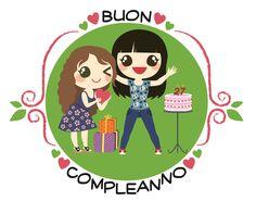 Buon Compleanno - 1. Un biglietto d'auguri per il compleanno di un'amica. #giuliabasolugrafica #graphic #illustration #drawing #illustrator #digitalart #vector #greetingcard #birthday