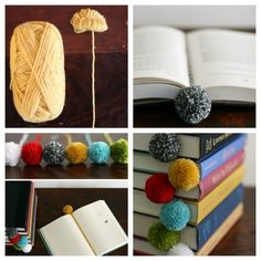 22. Bookmark | 32 Awesome No-Knit DIY Yarn Projects