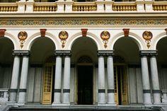Palacete teve inspiração no Castelo de Écouen, da França