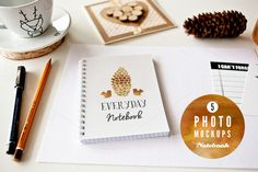 Check out 5 Notebook mockups by show it better on Creative Market