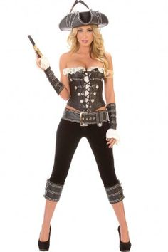 Sexy Lady Pirate Costume