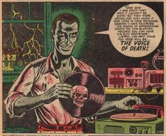 Now I only need to find what comic this came from (sigh. Old Comics, Vintage Comics, Horror Comics, Horror Art, Comic Books Art, Comic Art, Book Art, Comic Book Panels, Vintage Horror