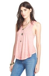 Free People 'Breezy' Seam Detail Slub Knit Tank