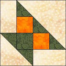 Block of Day for January 26, 2016 - Cherry Basket- strip piecing-The pattern may be downloaded until: Friday, February 5, 2016.