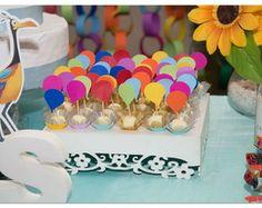 Topper p/ Doces Balões